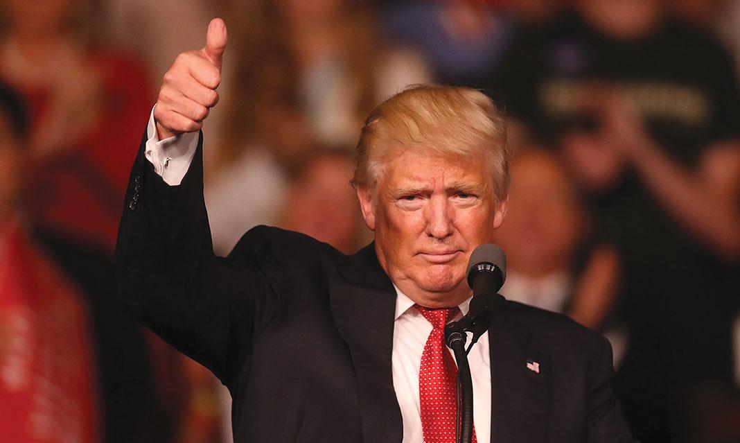 Donald J. Trump announced his bid to run for president in June 2015.